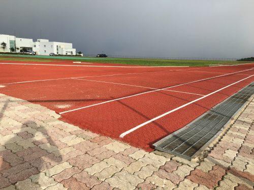 함백산 중턱에 자리잡은 올림픽선수촌