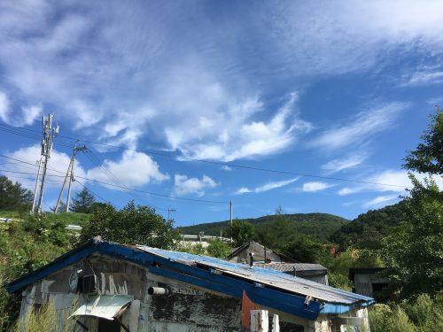 함백산 숙소 풍경