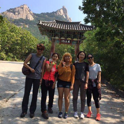 [언니네트레킹] 뒤늦은 9월 북한산 둘레길 (우이령길) 후기